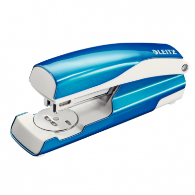 Capsator 24/6 30 coli albastru metalizat, LEITZ 5502