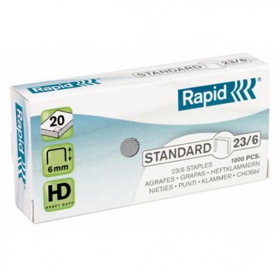 Capse 23/6 1000 buc/cut, RAPID Standard