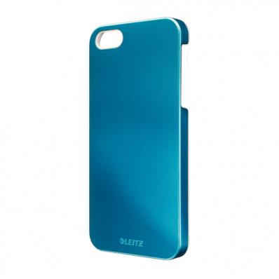 Carcasa iPhone 5 albastra metalizat, LEITZ WoW Complete