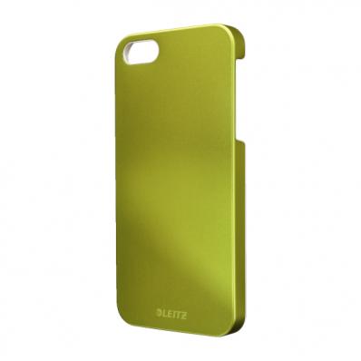 Carcasa iPhone 5 verde metalizat, LEITZ WoW Complete