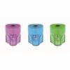 Ascutitoare plastic simpla cu container culori pastel, FABER-CASTELL Grip