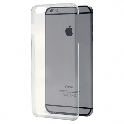 Carcasa slim iPhone 6 transparenta, LEITZ Complete Plus