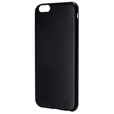 Carcasa soft touch iPhone 6 neagra, LEITZ Complete Plus