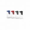 Ascutitoare plastic simpla cu container culori standard, FABER-CASTELL