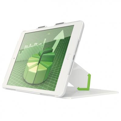 Carcasa tableta cu stativ si capac pentru iPad mini alba, LEITZ Complete