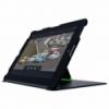 Carcasa tableta cu stativ si capac pentru noul iPad/iPad 2 neagra, LEITZ Complete