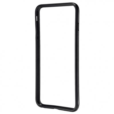 Carcasa tip bumpe iPhone 6 neagra, LEITZ Complete Plus