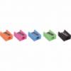 Ascutitoare plastic simpla culori pastel, FABER-CASTELL