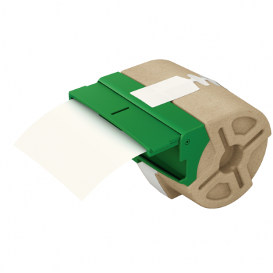 Cartus cu etichete din carton 157g/mp banda continua 91mm x 22m alba neadeziva, LEITZ Icon