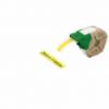 Cartus cu etichete din plastic banda continua 12mm x 10m galbena cu adeziv permanent, LEITZ Icon