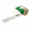 Cartus cu etichete din plastic banda continua 88mm x 10m alba cu adeziv permanent, LEITZ Icon