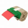 Cartus cu etichete din plastic banda continua 88mm x 10m rosie cu adeziv permanent, LEITZ Icon
