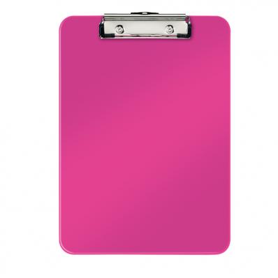 Clipboard simplu PS roz metalizat , LEITZ WoW