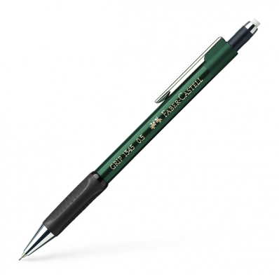 Creion mecanic 0.5mm corp verde, FABER-CASTELL Grip 1345